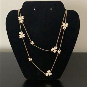 Kate Spade Flower Spade Necklace